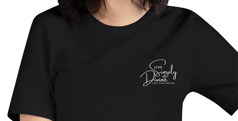 Live Simply Bee Divine Pocket T-Shirt