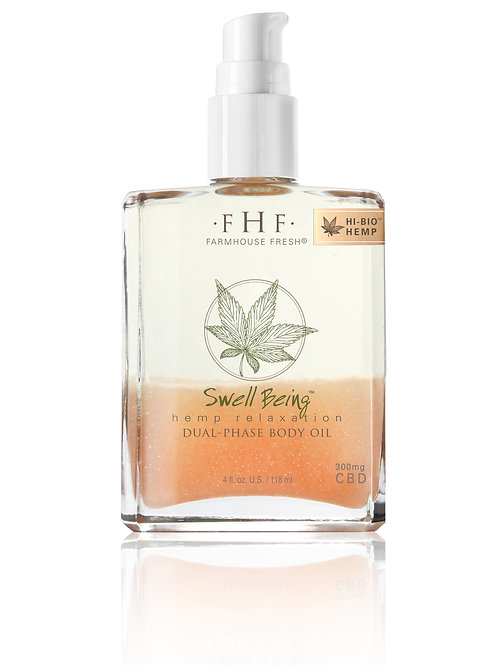 SWELL BEING™ HEMP RELAXATION DUAL-PHASE BODY OIL