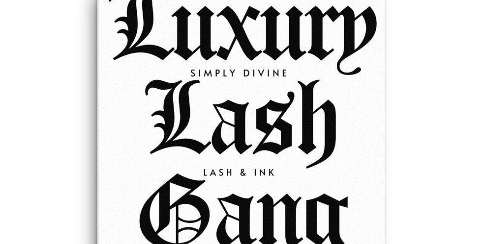 Luxury Lash Gang Canvas