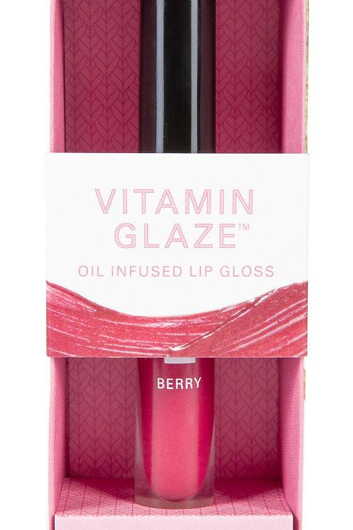 Vitamin Glaze™ Oil Infused Lip Gloss – Berry