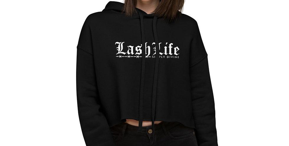Lash Life Crop Hoodie