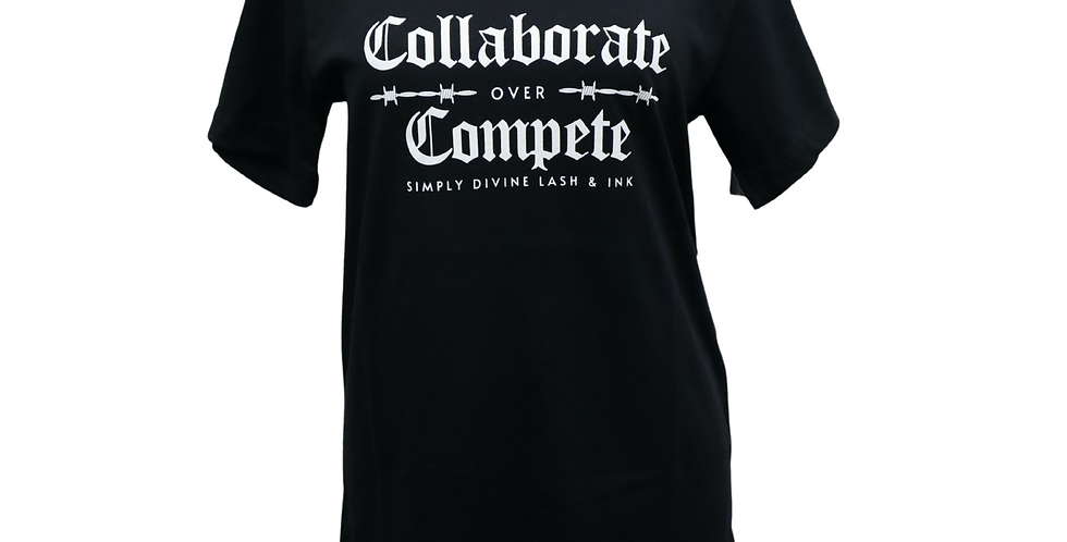 Collaborate over Compete Unisex T Shirt