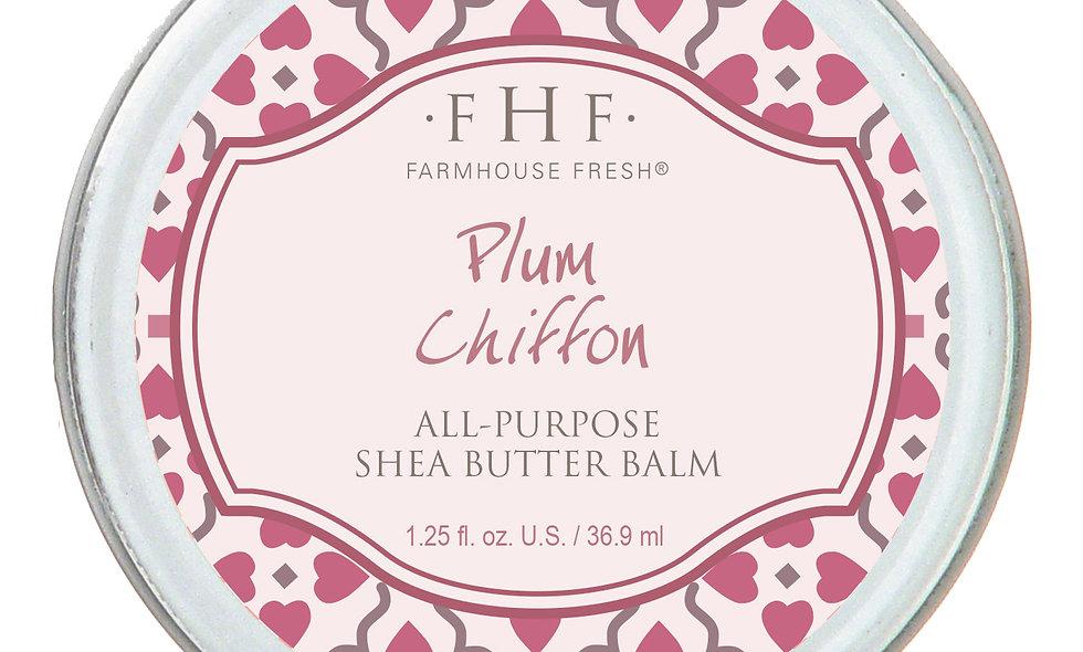 Plum Chiffon All-Purpose Shea Butter Balm