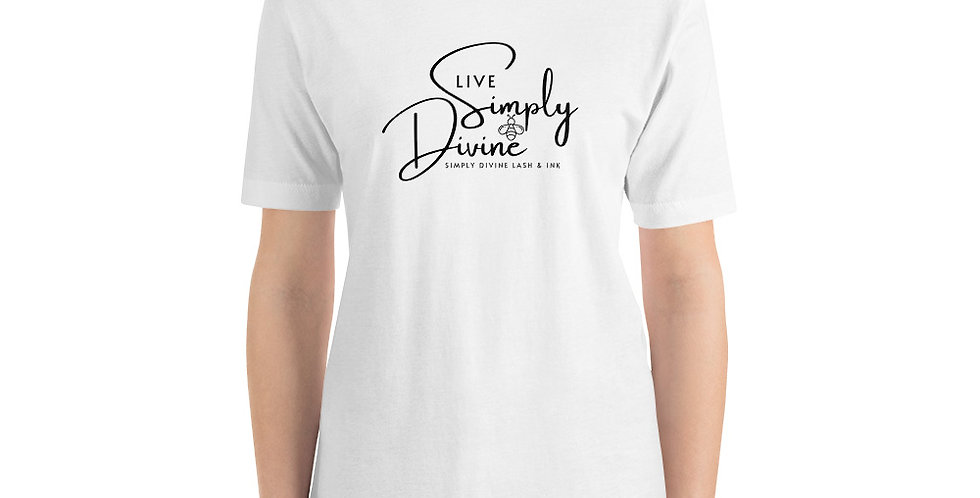 Live Simply Bee Divine Unisex T-Shirt