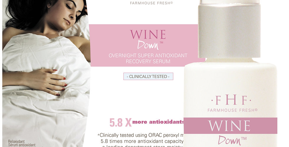Wine Down® Overnight Super Antioxidant Recovery Serum