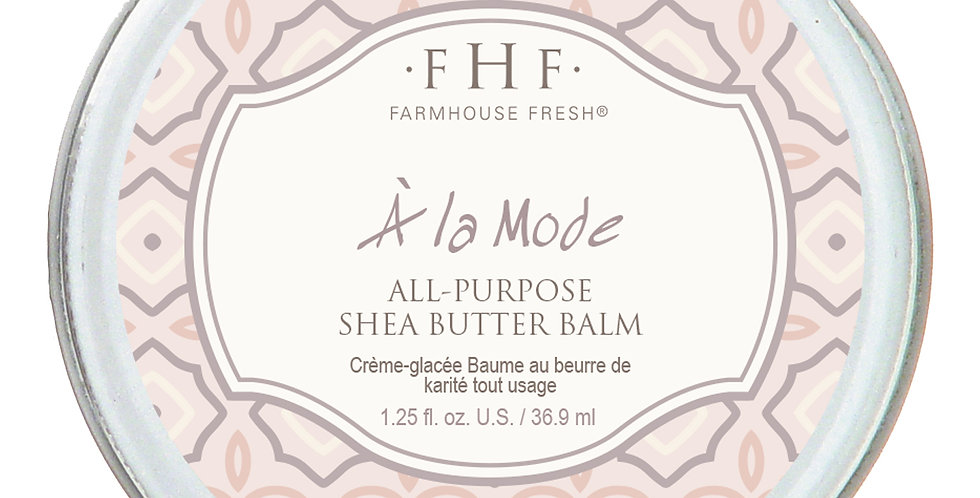 A` La Mode All-Purpose Shea Butter Balm