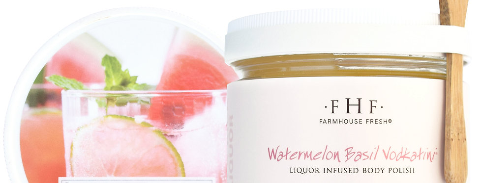 Watermelon Basil Vodkatini® Liquor Infused Body Polish