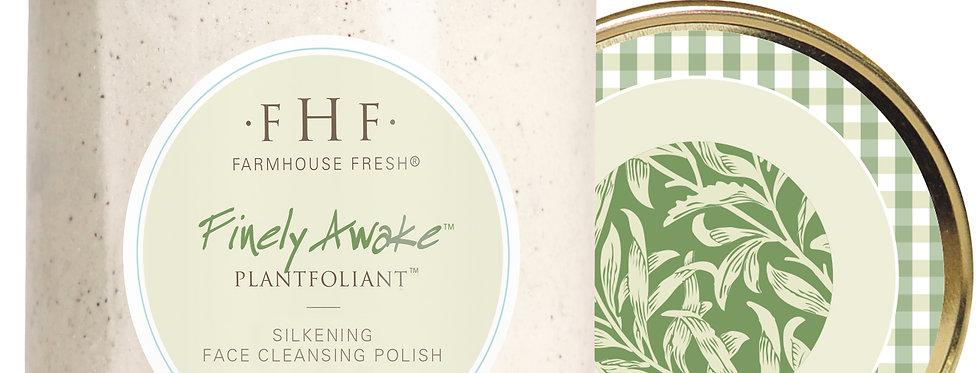 Finely Awake™ Plantfoliant™ Silkening Face Cleansing Polish