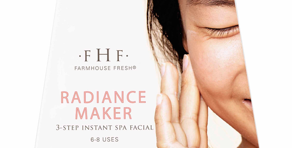 Radiance Maker 3-step Instant Spa Facial