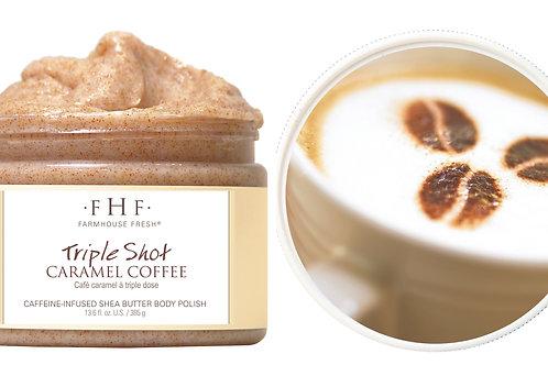 Triple Shot Caramel Coffee Whipped Shea Butter Body Polish