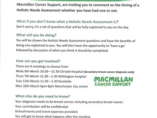 Breast Cancer Patients Invited To Influence Cancer Services
