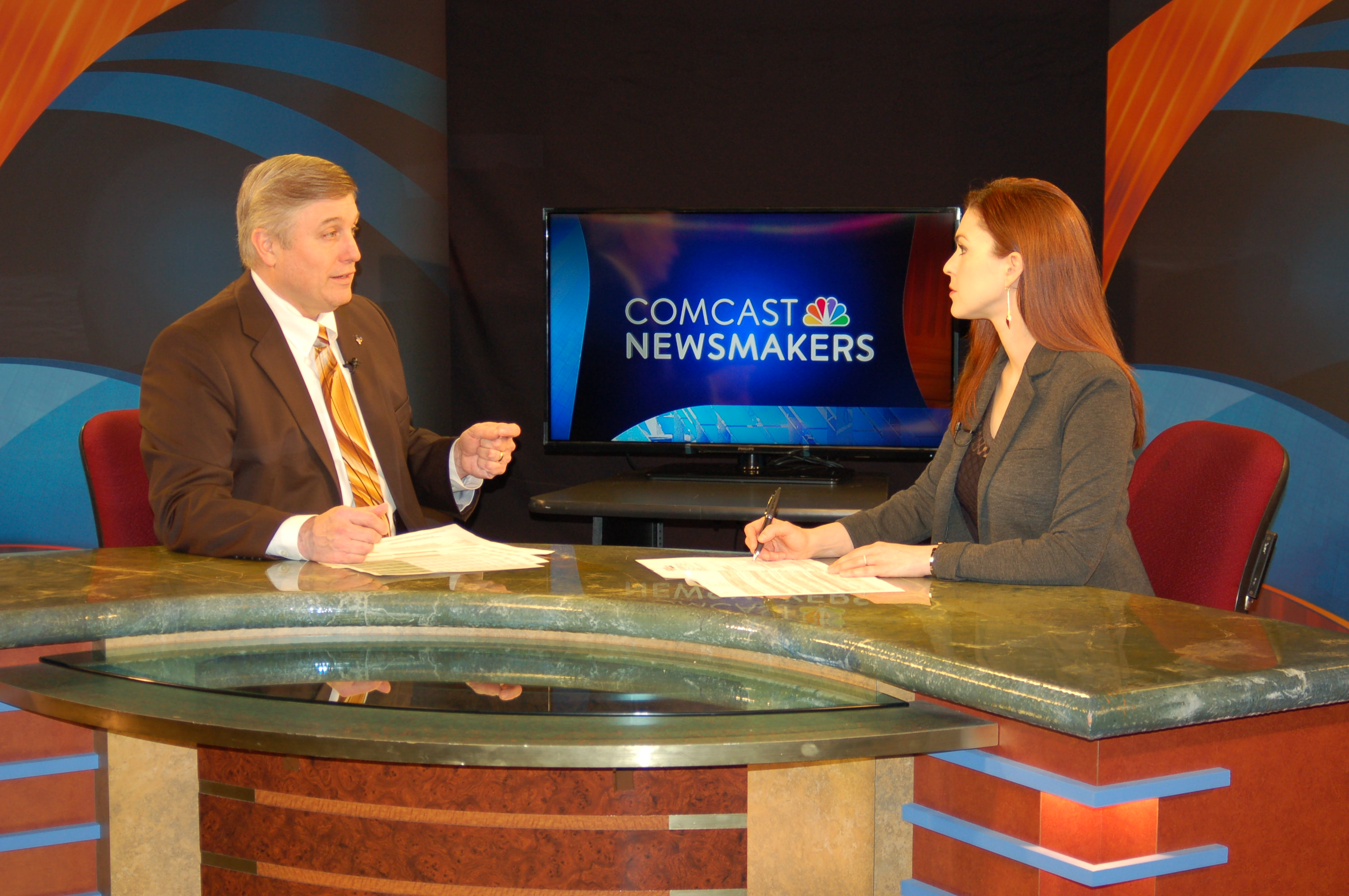 On Comcast Newsmakers w/ Jill Horner