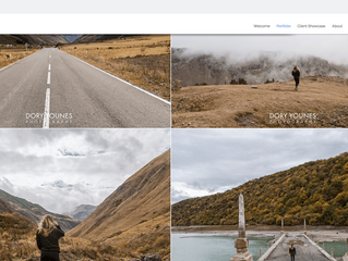 Keep your homepage minimalistic and free of clutter