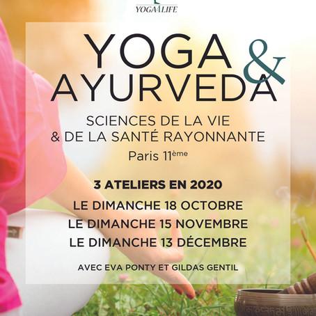 Ateliers Yoga & Ayurveda 2020