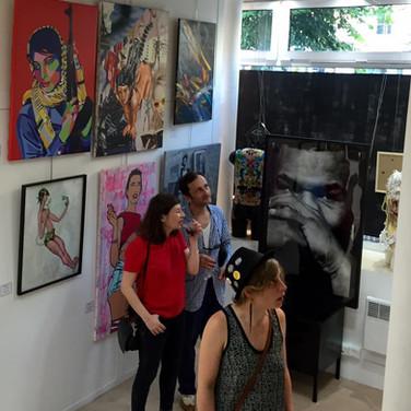Exposition SUMMER CAMP à la Galerie 18Bis