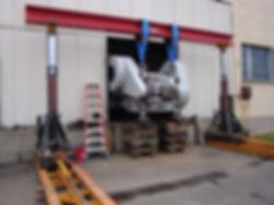 warehousing, machinery movers,crane rental, rigging equipment