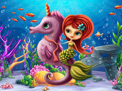 Tiny Mermaid 100 Piece
