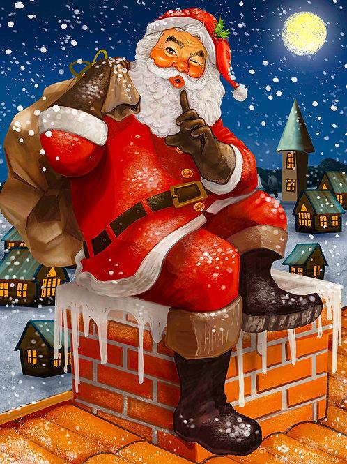 Santa 100 Piece