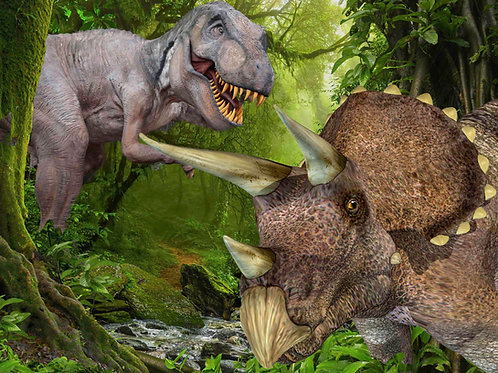 Triceratops 40 Piece