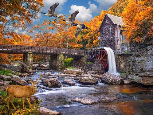 Grist Mill 500 Piece