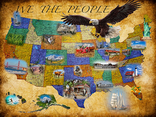 We the People 500 Piece