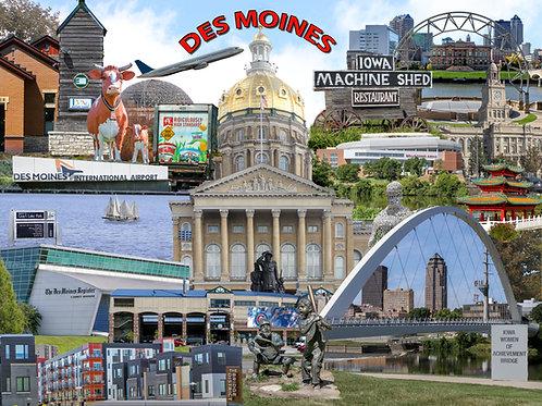 Des Moines Iowa II 500 Piece