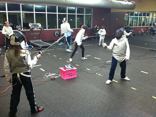 Scholarship Fencing Class Tuesday and Thursday