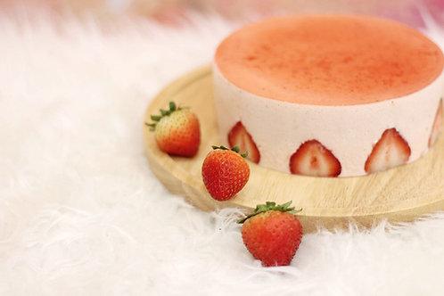 鮮草莓慕斯
