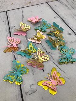 Mariposas de 4cm