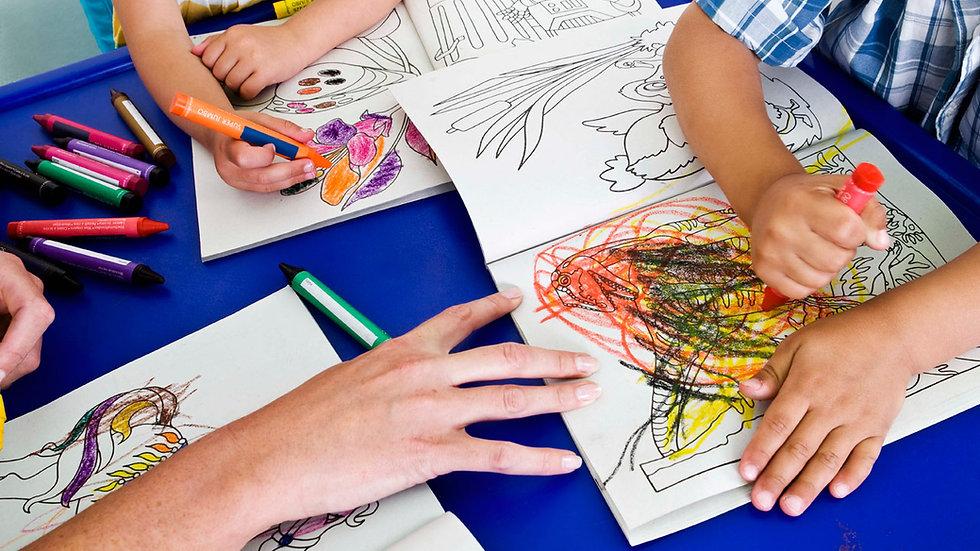 Morning Preschool Adventures for Preschool Siblings Ages 2-3 (10:00-11:55)