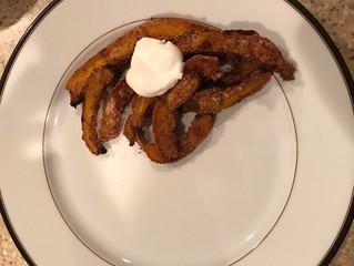 Dr. Kumfer's Kitchen: Pumpkin Pie Fries