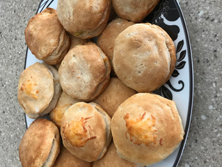 Dr. Kumfer's Kitchen: Egg and Cheese Stuffed Biscuits