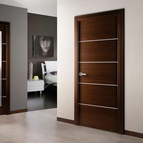Teak Ply Polished Doors