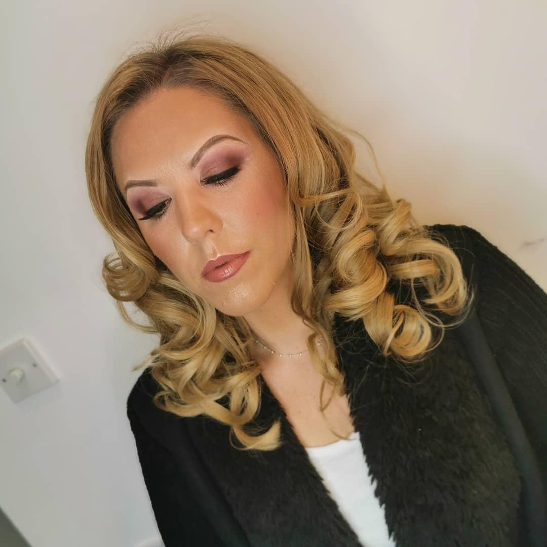 makeup & blow dry