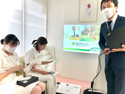 スタッフ勉強会「アトピー性皮膚炎の新しい治療」