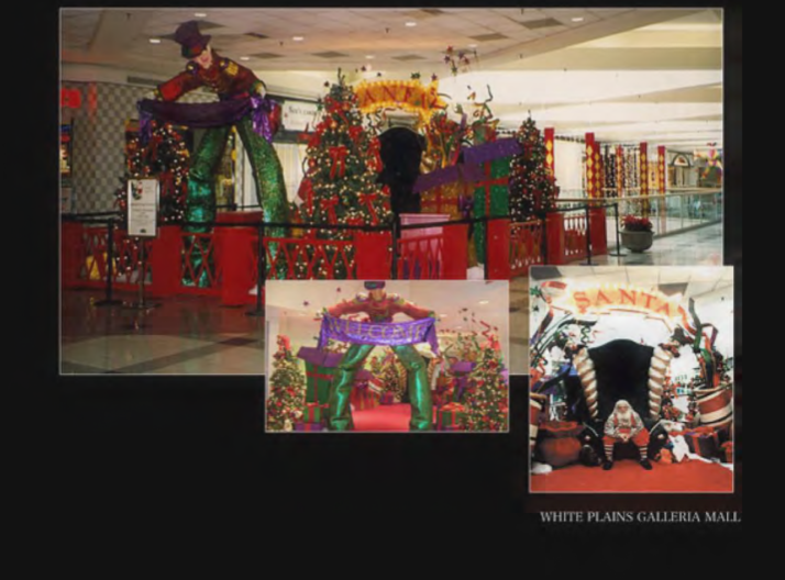 WHITE PLAINS GALLERIA HOLIDAY INSTALL