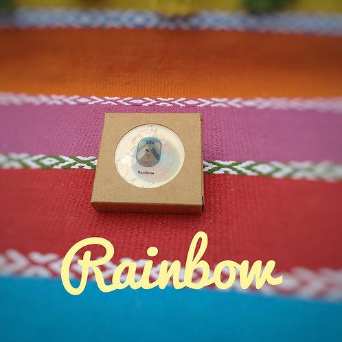 "Alpakakeratinseife ""Rainbow"""