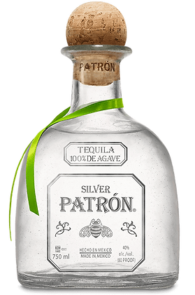 Patron Silver Tequila 375 ml