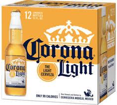 Corona Light 12 Pk Bottles