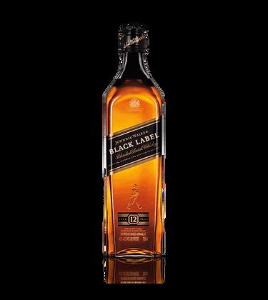 Johnnie Walker Black Label Scotch 375 ml