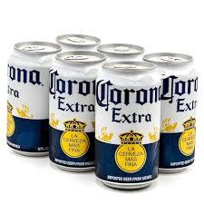 Corona Extra 6 Pk Cans
