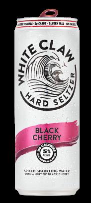 White Claw Black Cherry 16 oz 4 Pk Cans