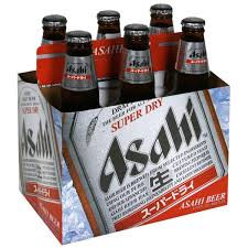 Asahi Super Dry 6 Pk Bottles