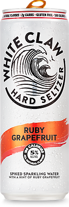 White Claw Ruby Grapefruit 6 Pk 12 oz Cans