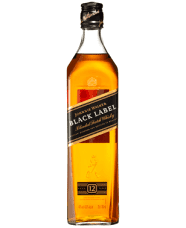 Johnnie Walker Black Label Scotch 1 L