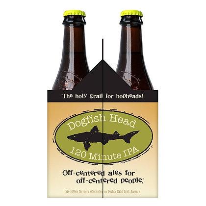 Dogfish Head IPA 120 Mts 4 Pk Bottles