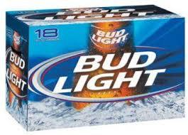 Bud Light 18 Pk Bottles