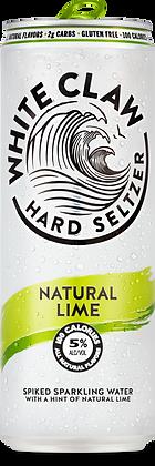 White Claw Ntural Lime 6 Pk 12 oz Cans