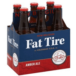NB Fat Tire Amber Ale 6 Pk Cans