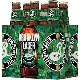 Brooklyn Lager 6 Pk Bottles